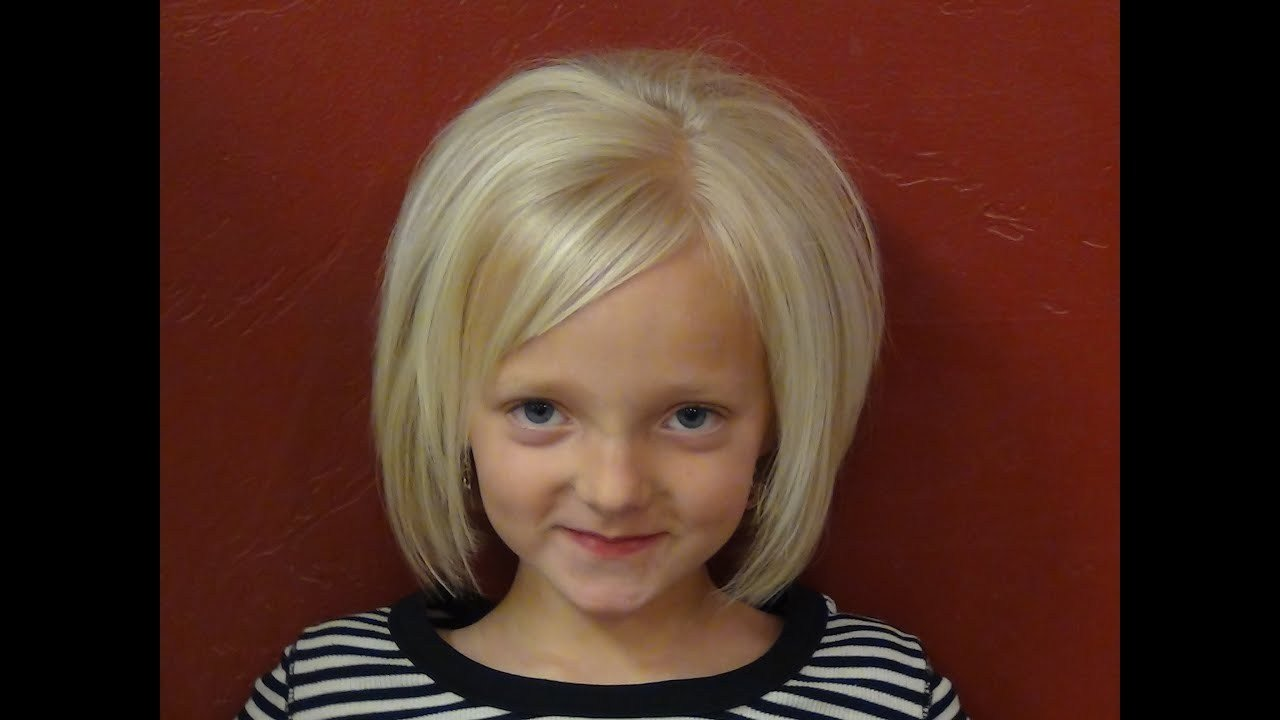 The Best Cut Short Hairstyles Into Little Girl S Hair Tutorial Pictures