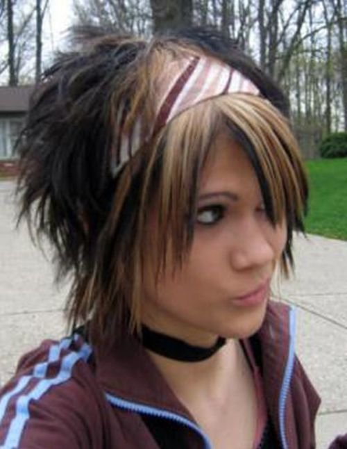 The Best 35 Deeply Emotional And Creative Emo Hairstyles For Girls Pictures