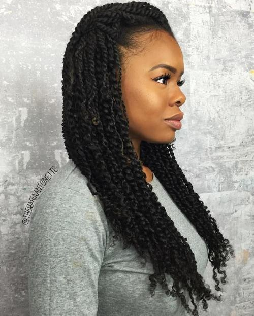 The Best 30 Hot K*Nky Twists Hairstyles To Try In 2017 Pictures