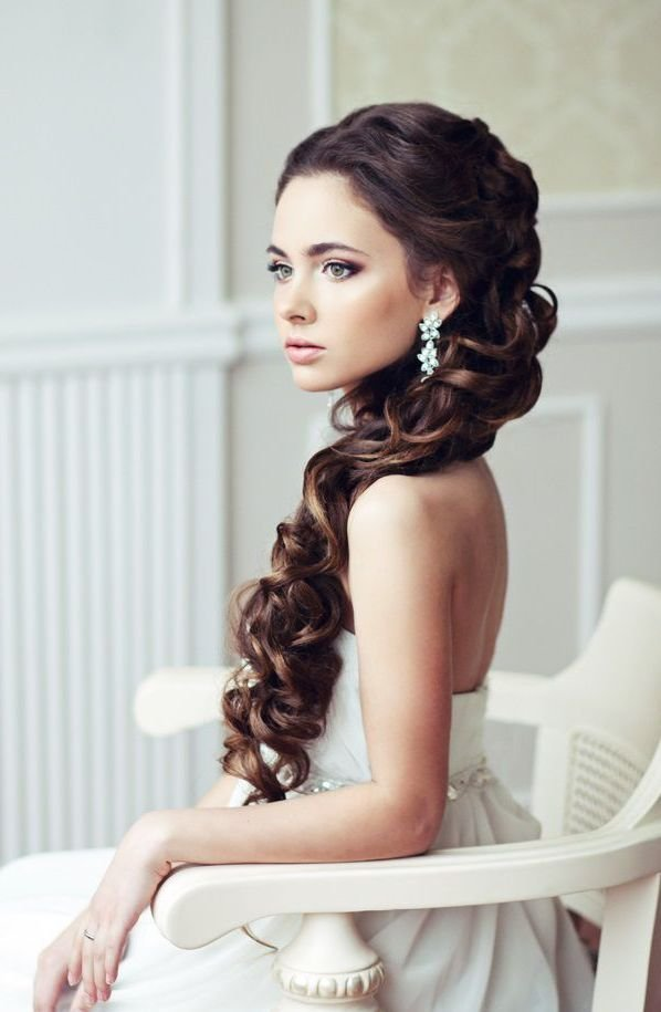 The Best Latest Wedding Hairstyles 2015 For Long Hair003 – I Do Ghana Pictures