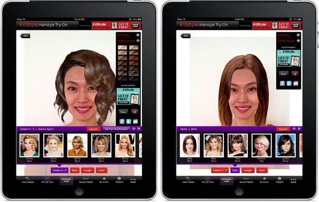 The Best App Try Out A New Hairstyle Without Going To The Salon Pictures