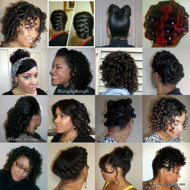 The Best Revive Your Hair Heat Free Hairstyles Longing 4 Length Pictures