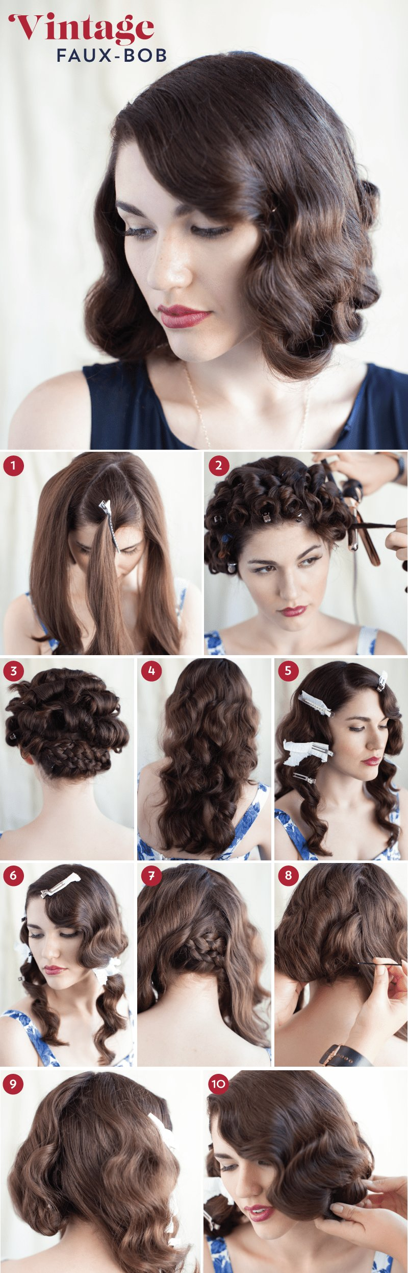 The Best Go Short For The Day With Our Faux Bob Tutorial Pictures