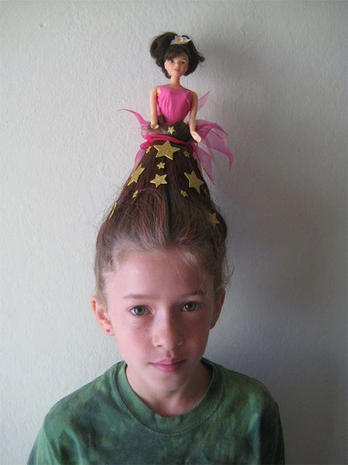 The Best 25 Crazy Funky Scary Halloween Hairstyles For Kids Pictures