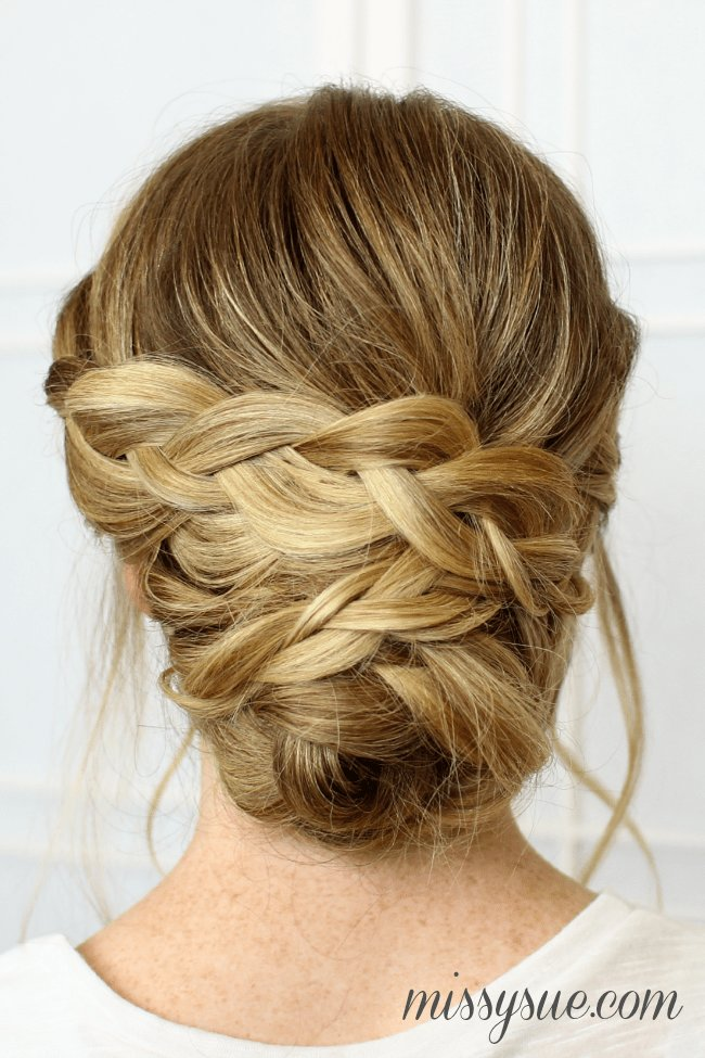 The Best Soft Braided Updo Pictures