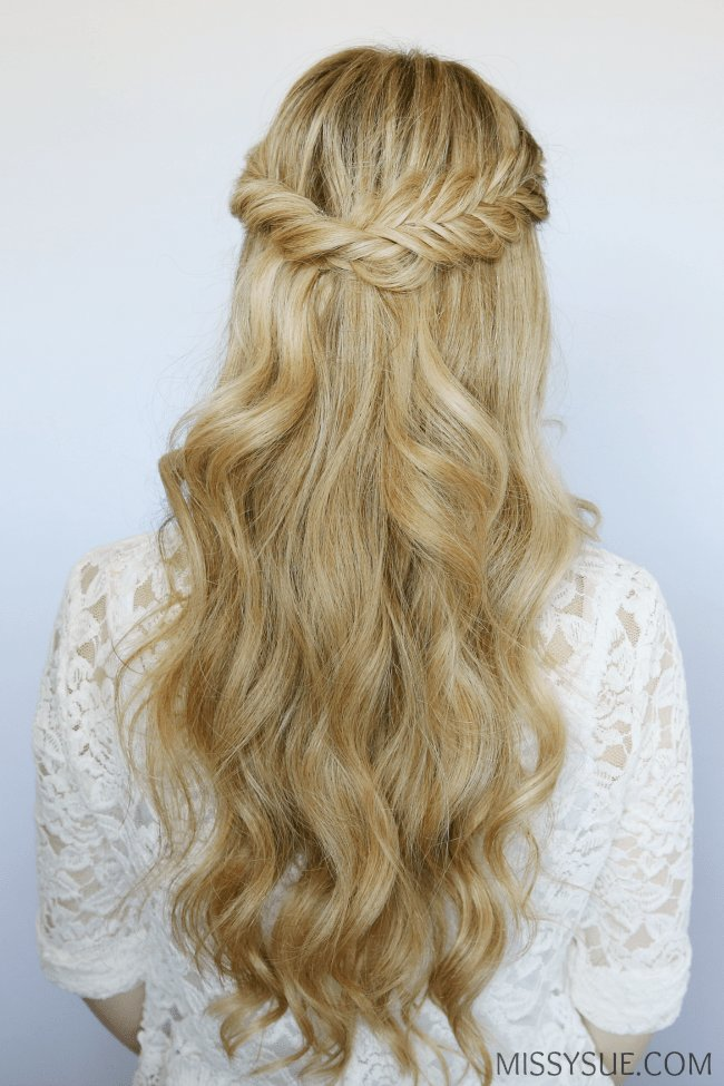 The Best Half Up Fishtail Twist Missy Sue Pictures