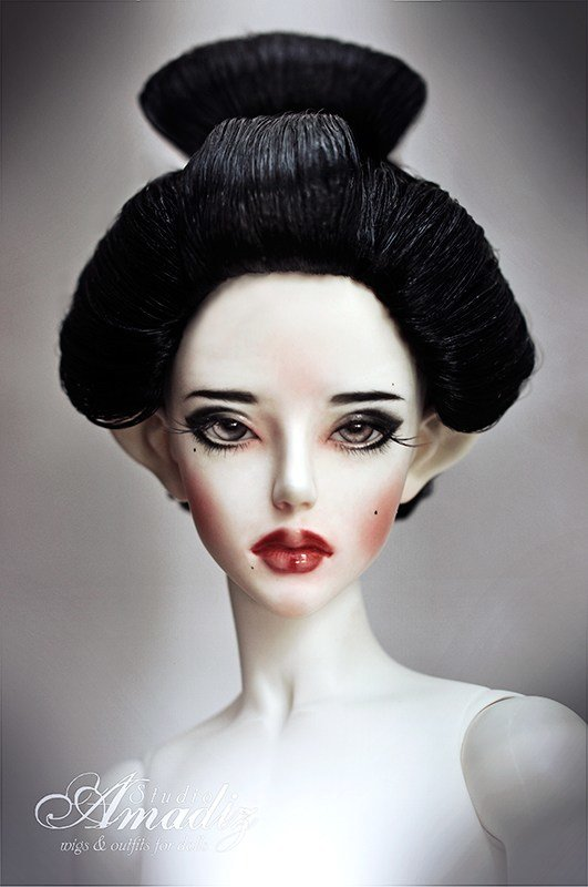 The Best Geisha Hairstyle 02 By Amadiz On Deviantart Pictures