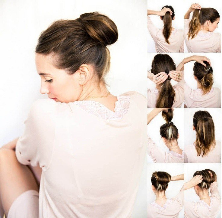 The Best 10 Super Easy Updo Hairstyles Tutorials Popular Haircuts Pictures
