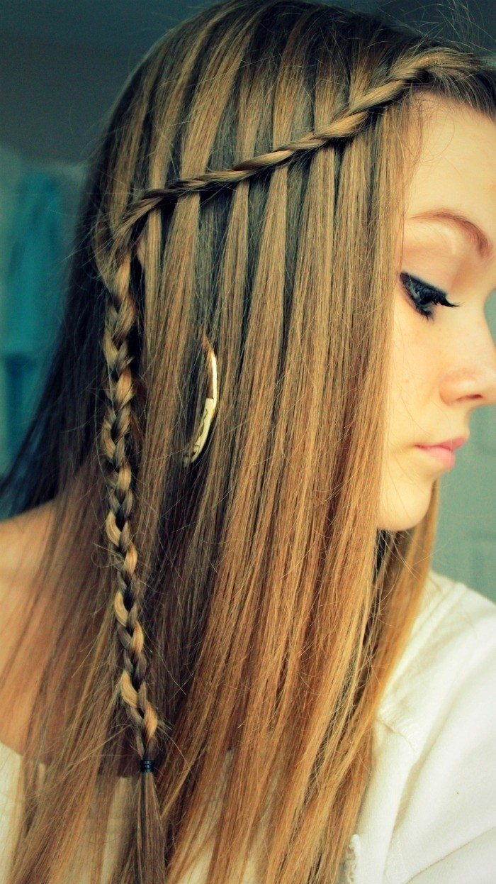 The Best 10 Best Waterfall Braids Hairstyle Ideas For Long Hair Pictures