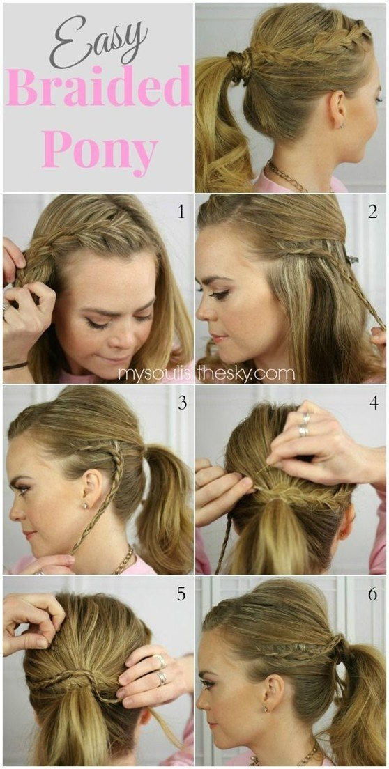 The Best 14 Braided Ponytail Hairstyles New Ways To Style A Braid Pictures