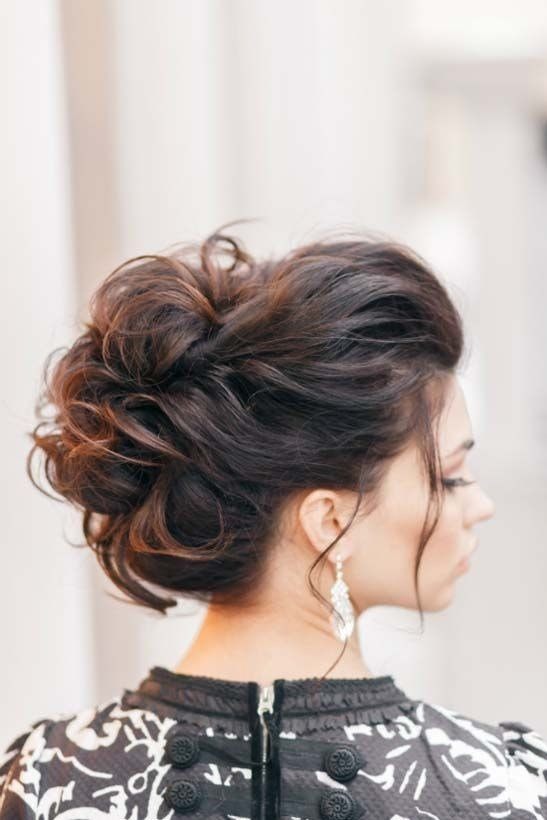 The Best 10 Pretty Messy Updos For Long Hair Updo Hairstyles 2019 Pictures