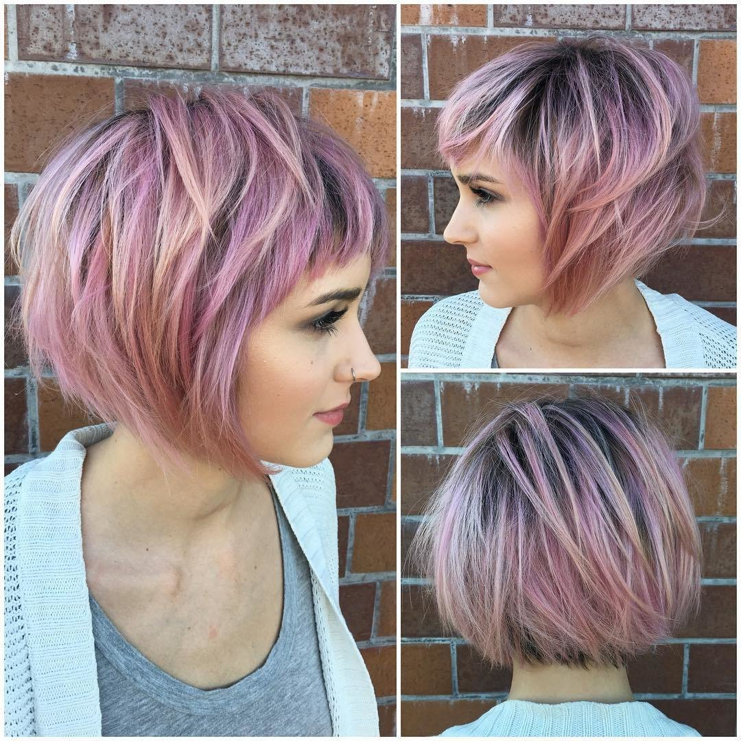 The Best 30 Trendy Short Hairstyles For Thick Hair 2019 Pictures