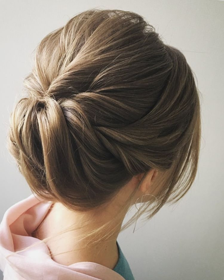 The Best Easy And Pretty Chignon Buns Hairstyles You'll Love To Try Pictures