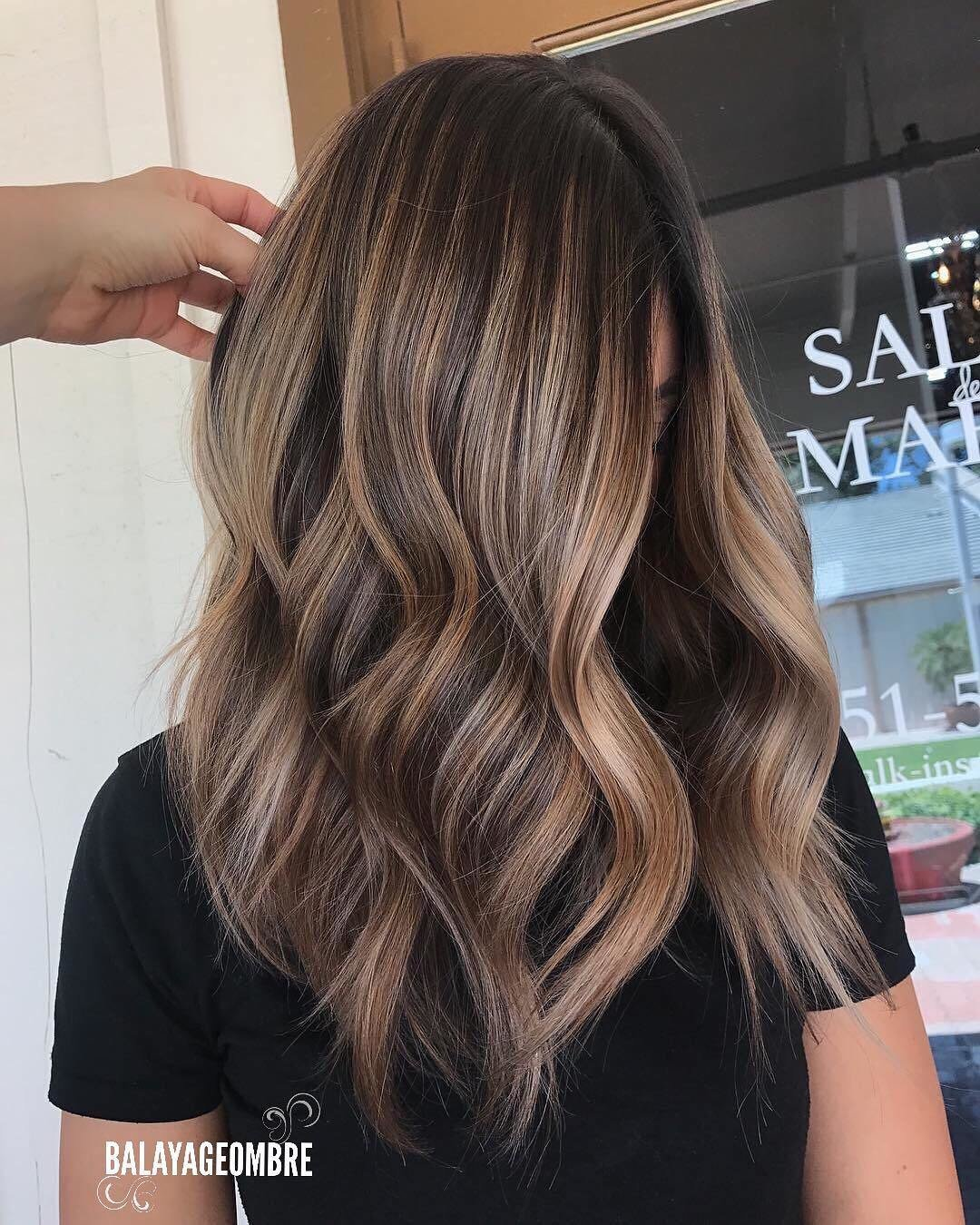 The Best 10 Best Medium Layered Hairstyles 2019 Brown Ash Blonde Fashion Colors Pictures