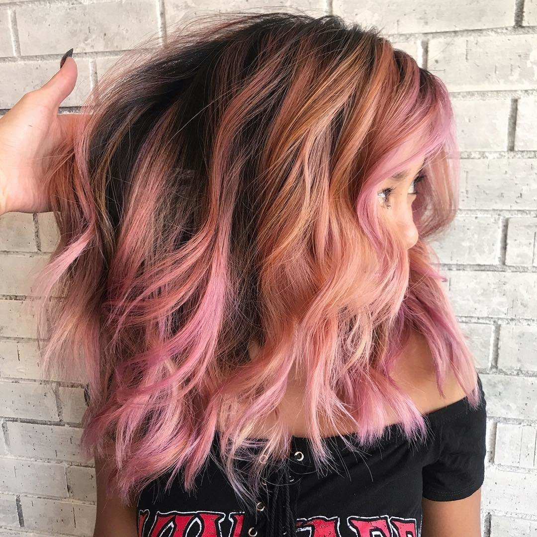 The Best 10 Wavy Shoulder Length Hairstyles 2019 Pictures