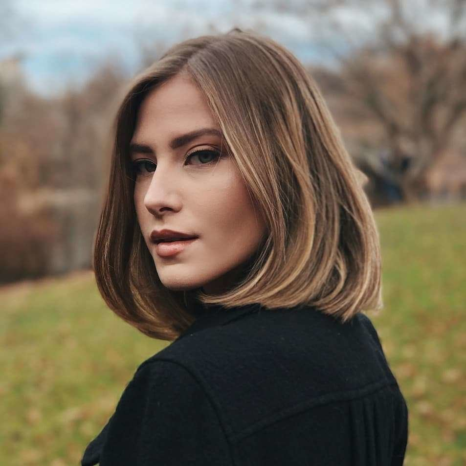 The Best 10 Classic Shoulder Length Haircut Ideas Red Alert Pictures