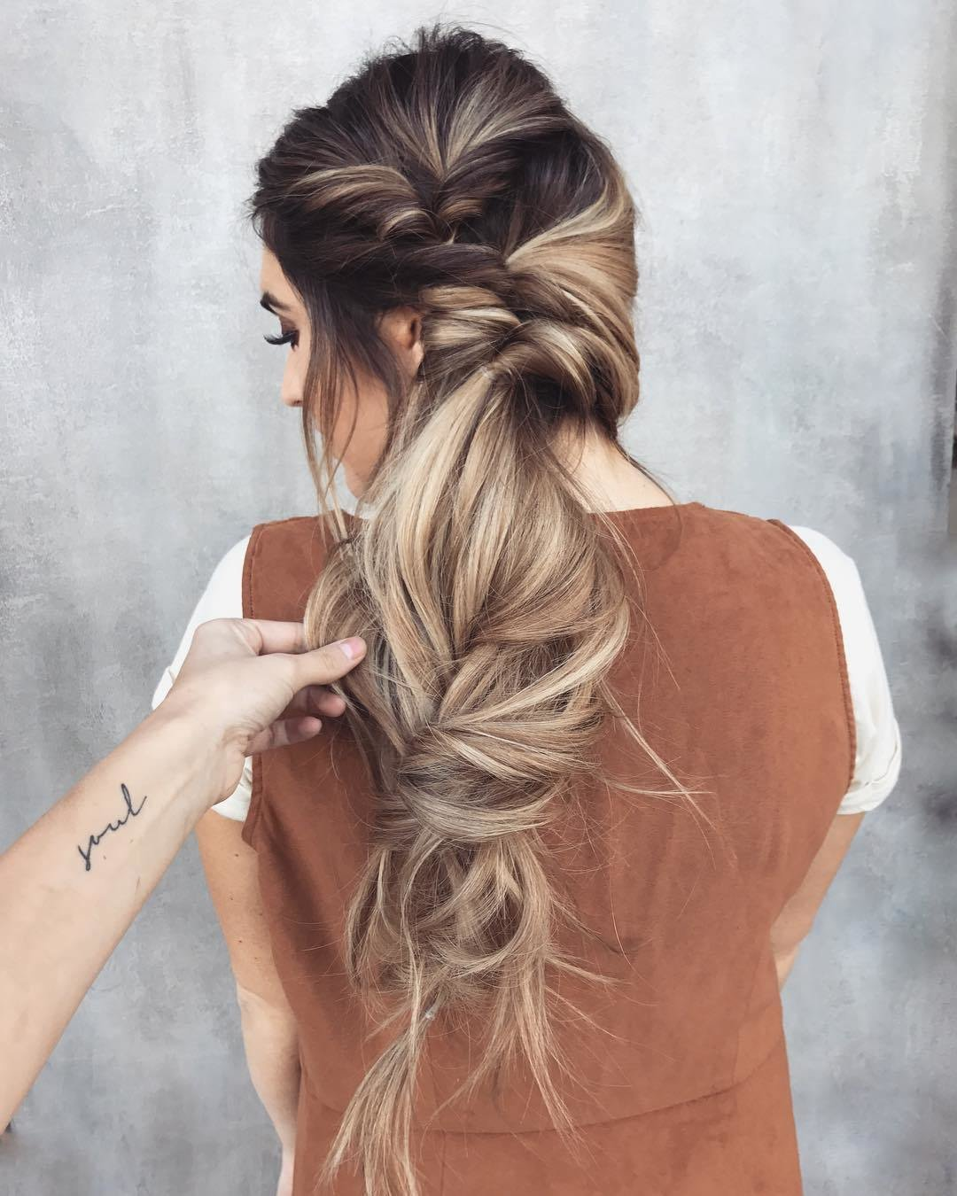 The Best 10 Messy Braided Long Hairstyle Ideas For Weddings Pictures