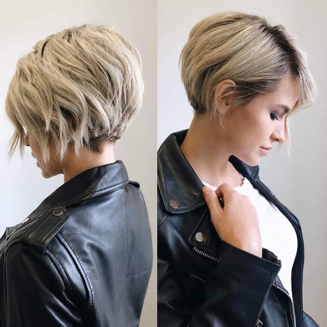 The Best Stylish Short Hairstyles For Thick Hair Women Short Haircut Ideas 2019 Pictures