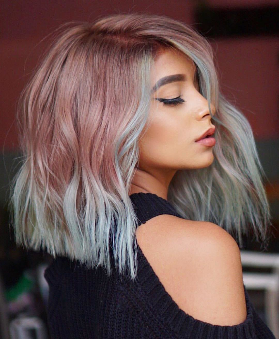 The Best 10 Stylish Lob Hairstyle Ideas Best Shoulder Length Hair For Women 2019 Pictures