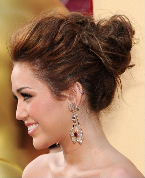 The Best Fashionari Celebrities Spring Summer12 Updo Hairstyles Pictures