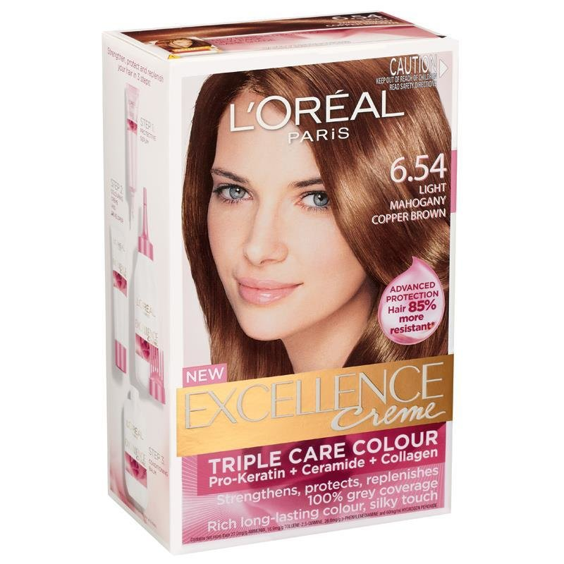 The Best L Oreal Excellence Creme 6 54 Light Mahogany Copper Pictures