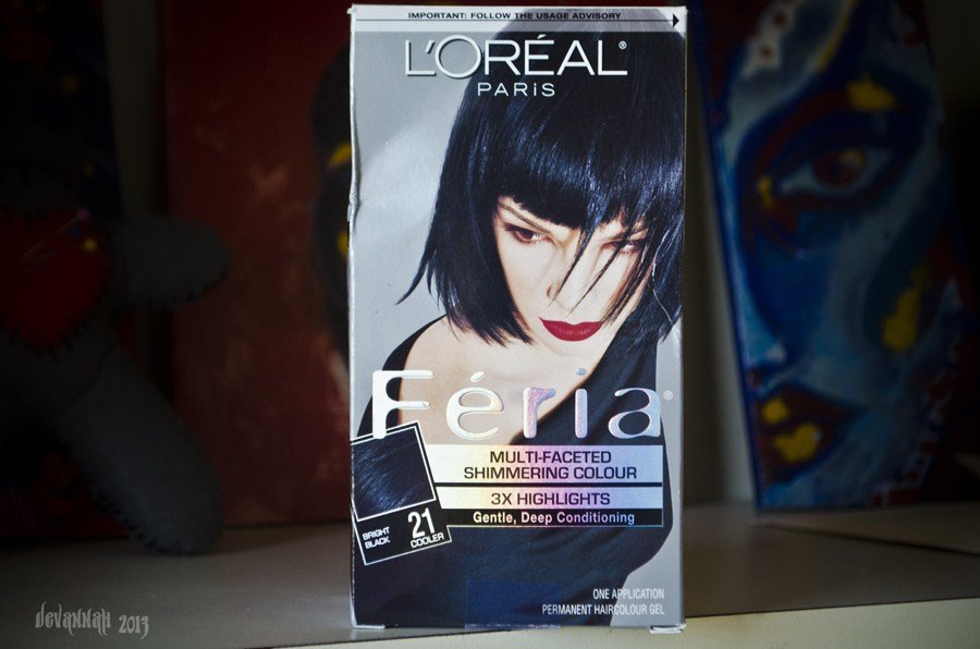 The Best Feria Multi Faceted Shimmering Colour Bright Black Oreal Pictures