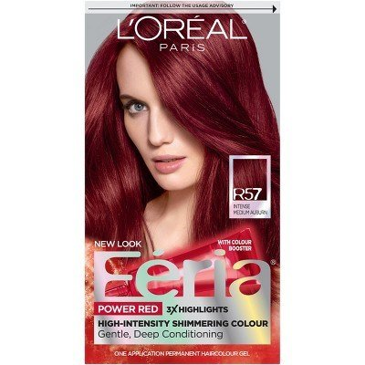The Best Loreal Feria Power Reds Hair Color R68 Ruby Rush Rich Pictures