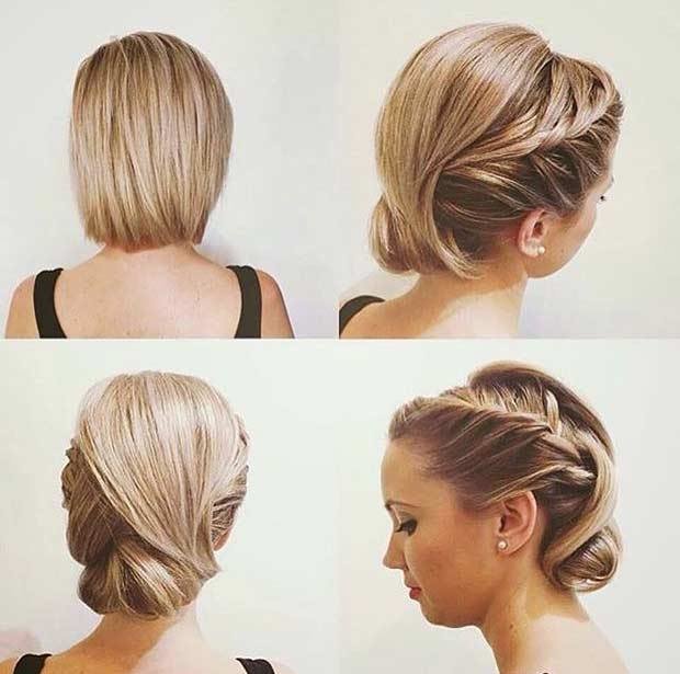 The Best Trubridal Wedding Blog 31 Wedding Hairstyles For Short Pictures