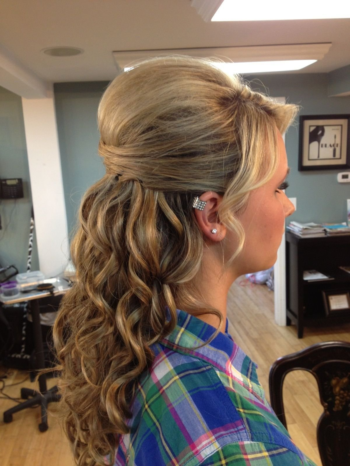 The Best Grad Hair So Excited Hair Pinterest Pictures