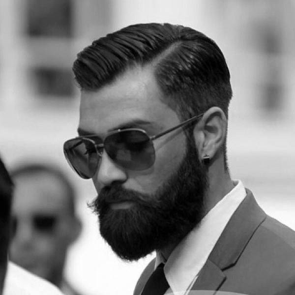 The Best 40 Hard Part Haircuts For Men Sharp Straight Line Style Pictures