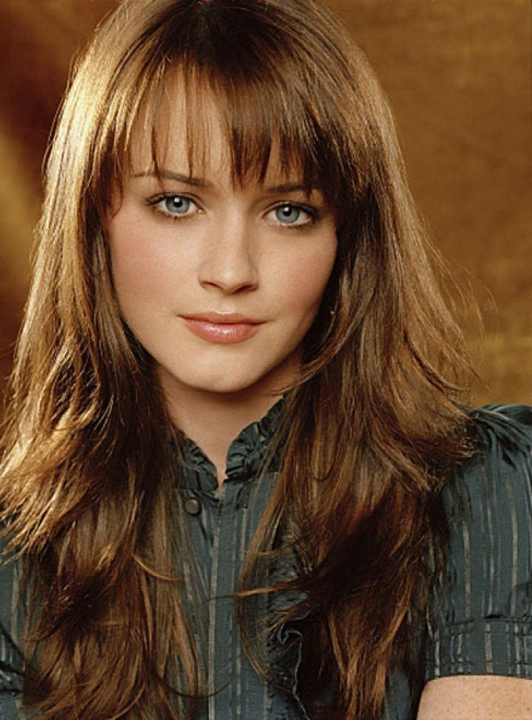 The Best Effortless And Elegant Long Layered Haircuts With Bangs Pictures