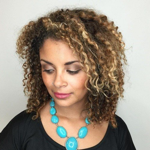 The Best 15 Modern Curly Bob Hairstyles Pictures