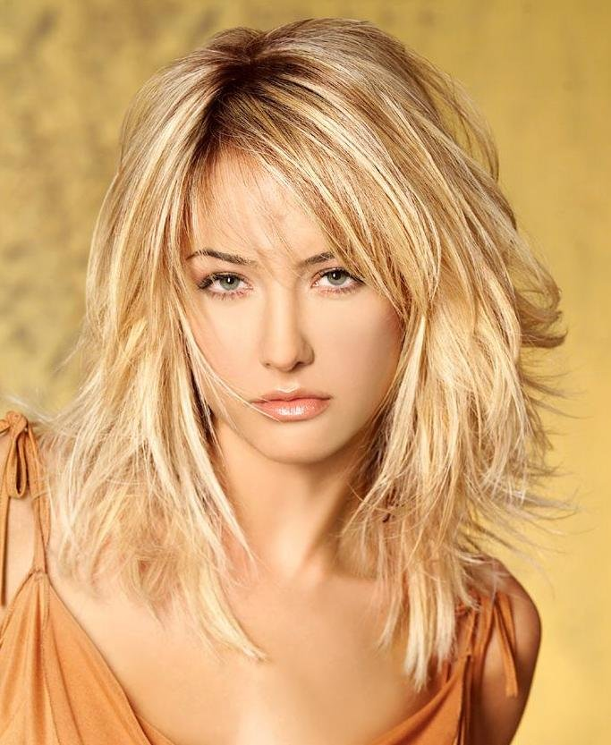 The Best Hairstyles Haircuts And Hair Colors Blackbirdslearningtofly Medium Length Hairstyles To Suit Pictures