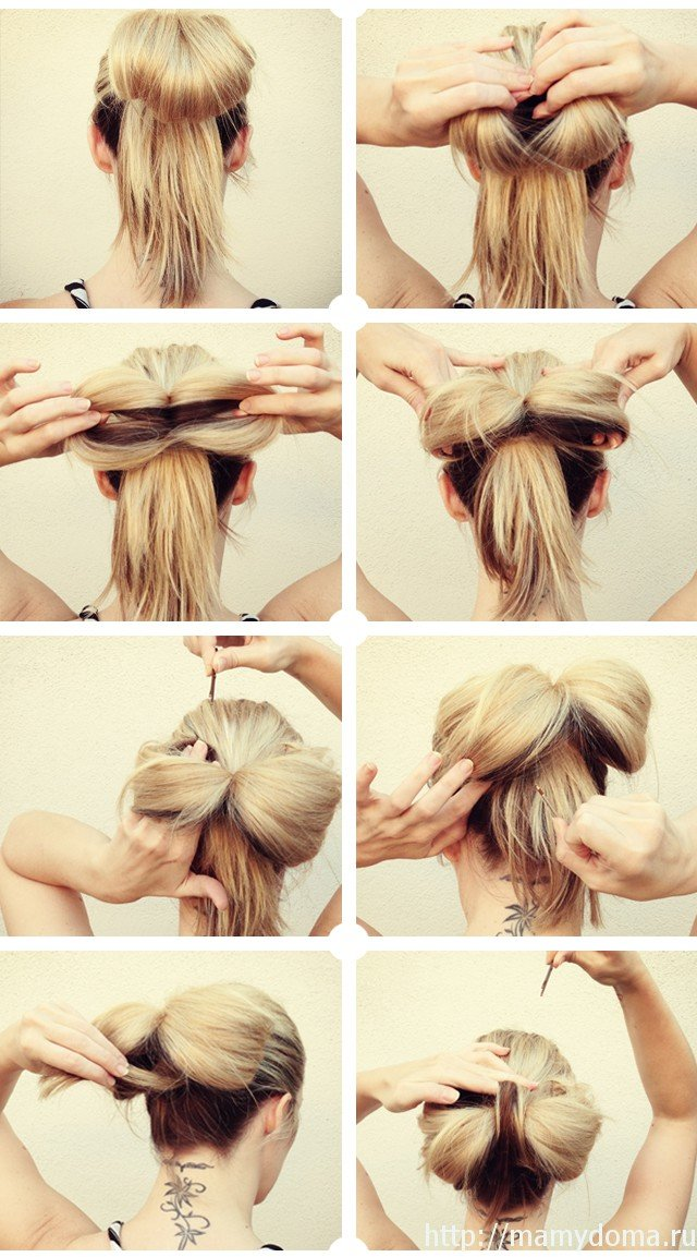 The Best Hairstyles Diy Big Floppy Hair Bow Tutorial Pictures