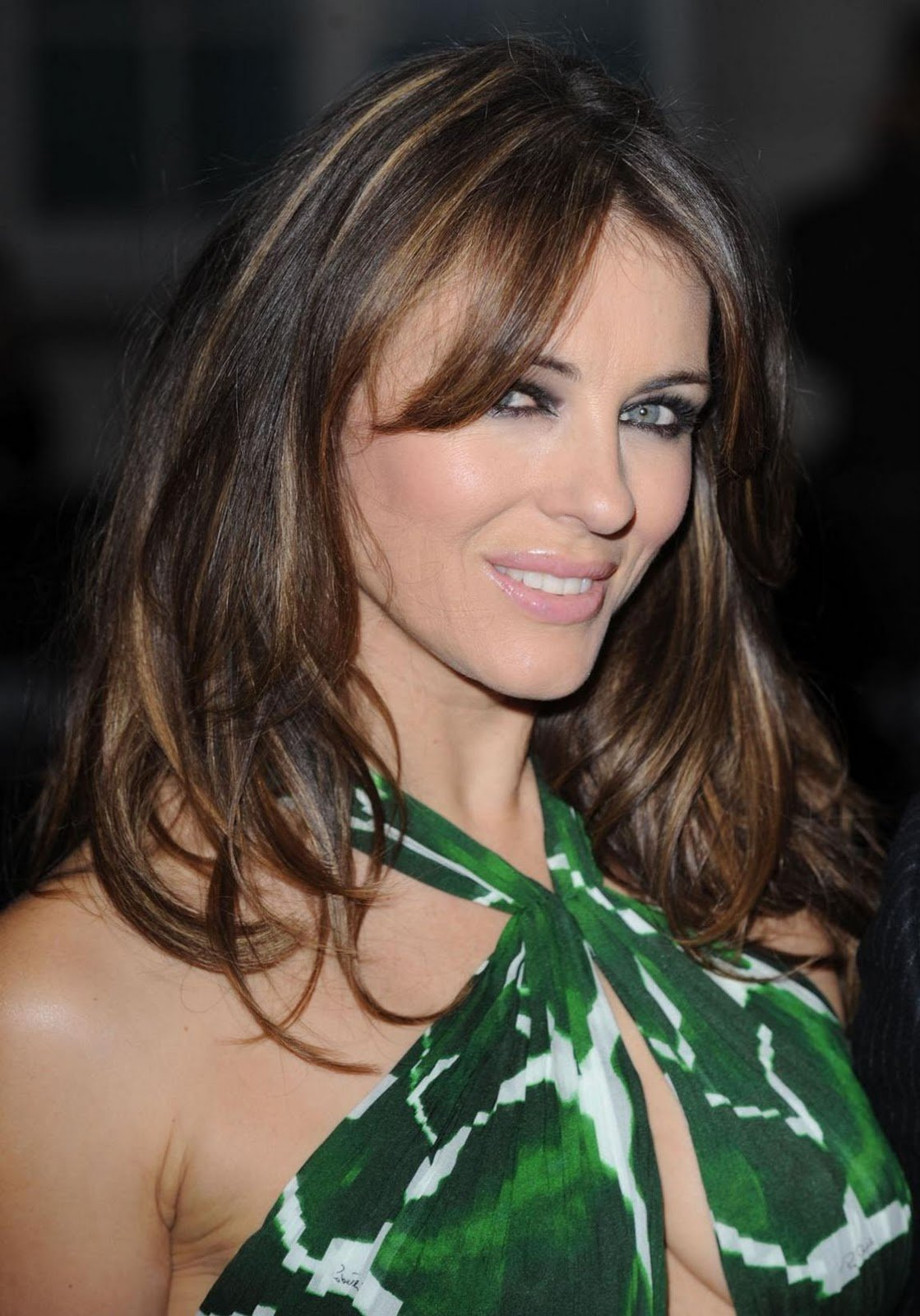 The Best Elizabeth Hurley Hairstyle Trendy Hairstyles 2014 Pictures