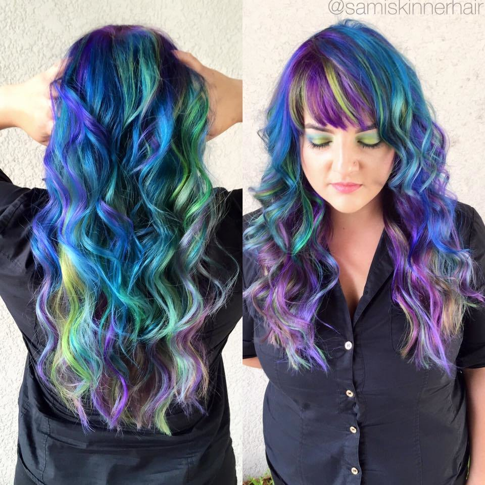 The Best Multi Color Hairstyles Heygotomaps Pictures