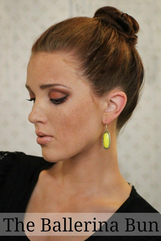 The Best The Freckled Fox Summers End Hair Week The Ballerina Bun Pictures