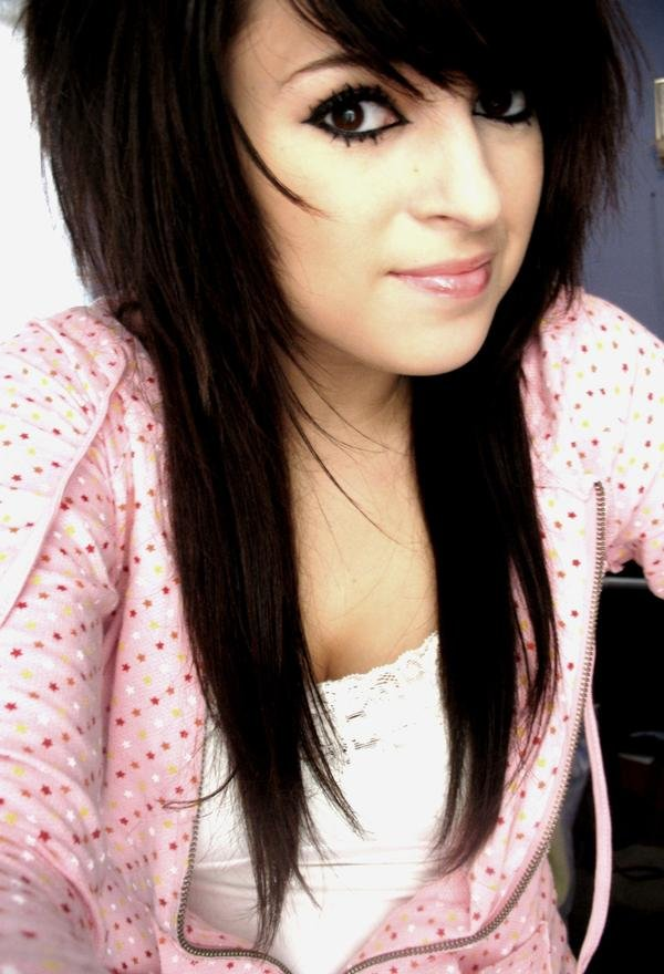 The Best Emolutions Girls Emo Hairstyle Long Hair Pictures
