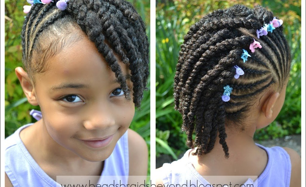 The Best Side Cornrows With Two Strand Twists Twist Hairstyles Pictures