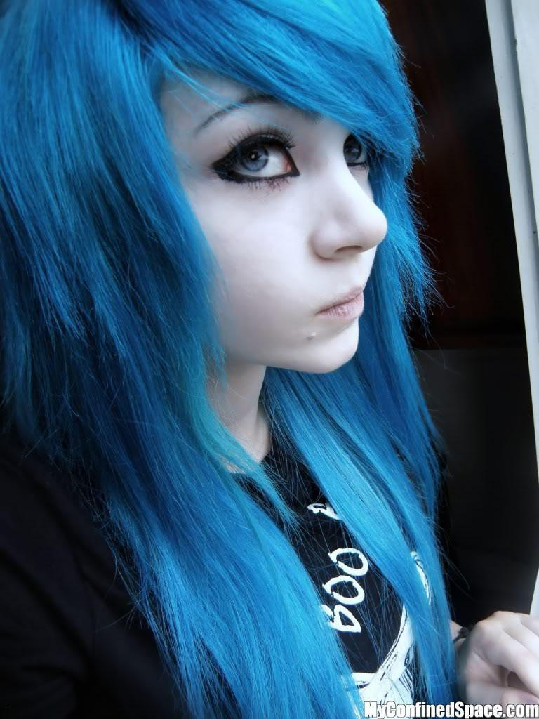 The Best Emo Lifestyle Emo Girls Blue Hair Pictures