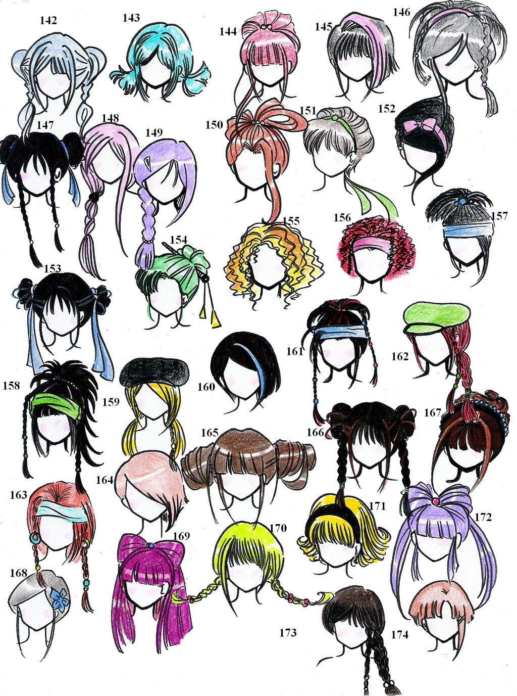 The Best Anime Style Hair Pictures