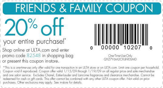 The Best Ulta Coupons – Coupon Specialist Pictures