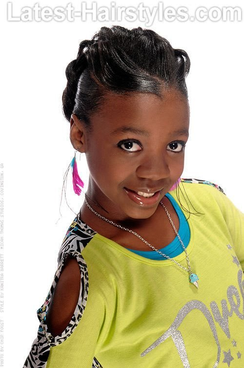 The Best 15 Stinkin' Cute Black Kid Hairstyles You Can Do At Home Pictures