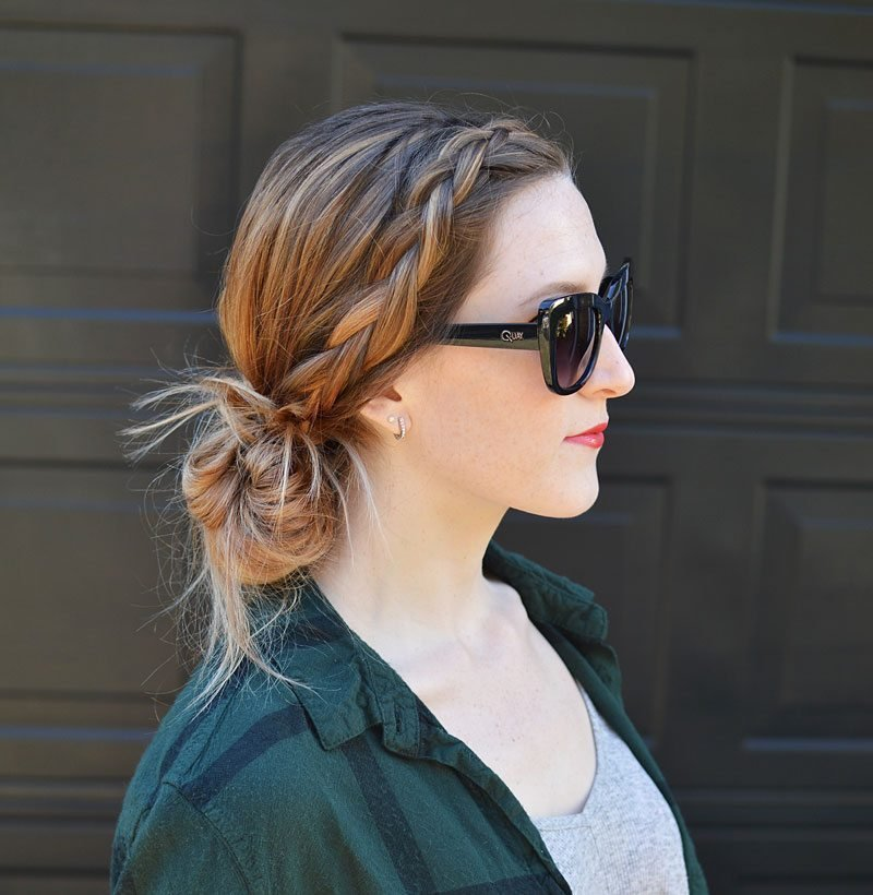 The Best 4 Super Quick Hairstyles That Are Perfect For A Rainy Day Pictures