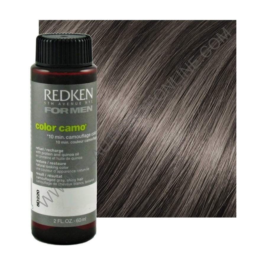 The Best Redken For Men Color Camo Medium Ash Beauty Stop Online Pictures