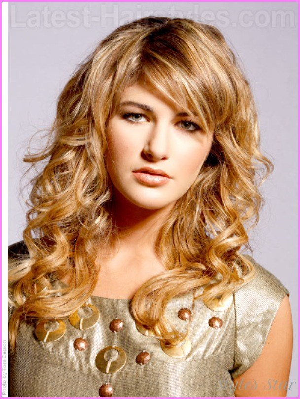 The Best Cute Hairstyles For Long Curly Hair School Stylesstar Com Pictures