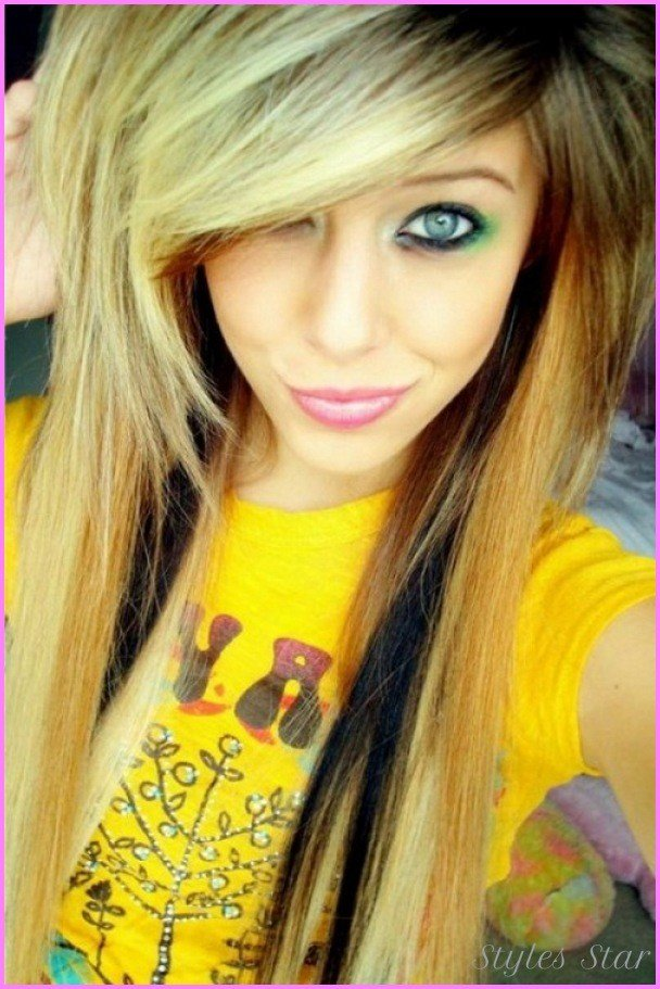 The Best Emo Haircut For Girls Bangs Stylesstar Com Pictures