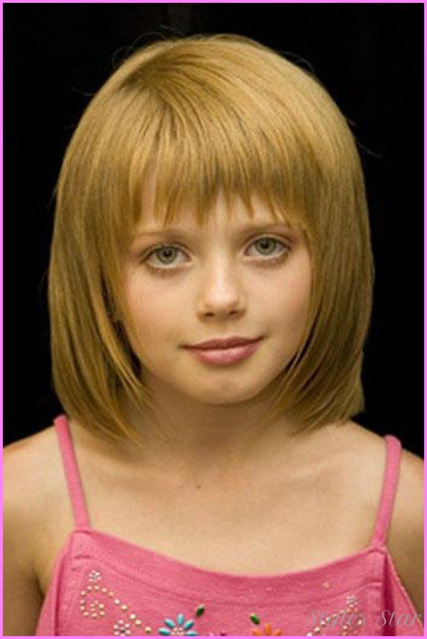 The Best Little Girl Haircuts With Bangs Stylesstar Com Pictures
