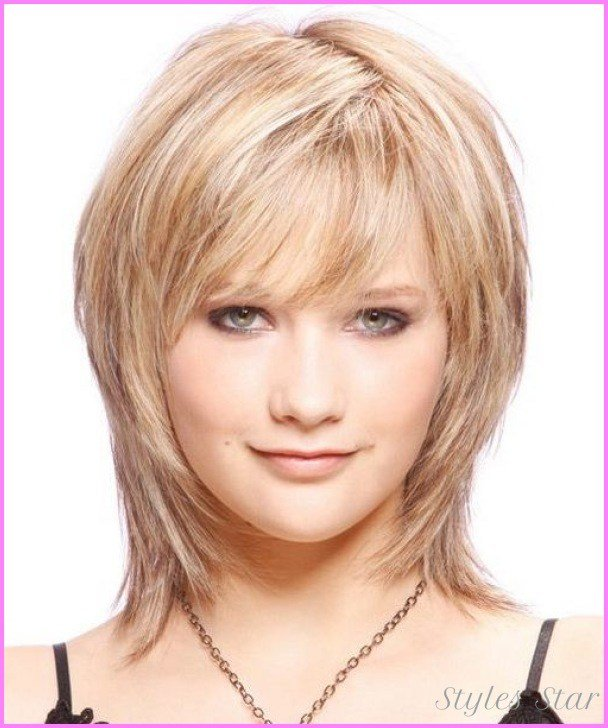 The Best Short Haircuts For Women With Round Faces Over Stylesstar Com Pictures
