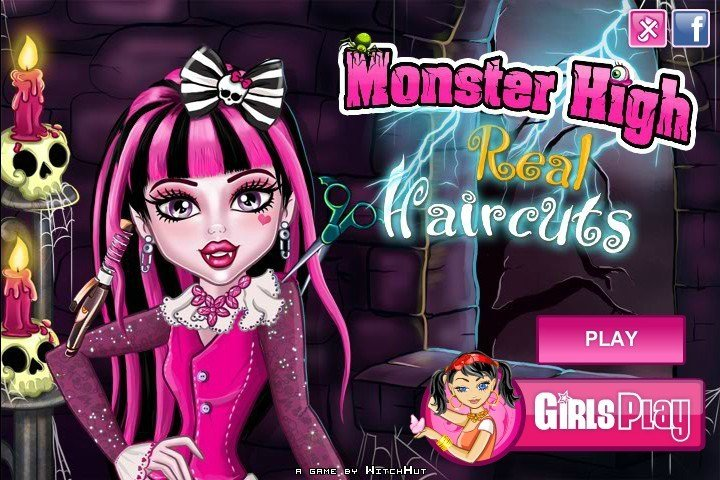 The Best Monster High Real Haircuts Game Games For Girls Box Pictures